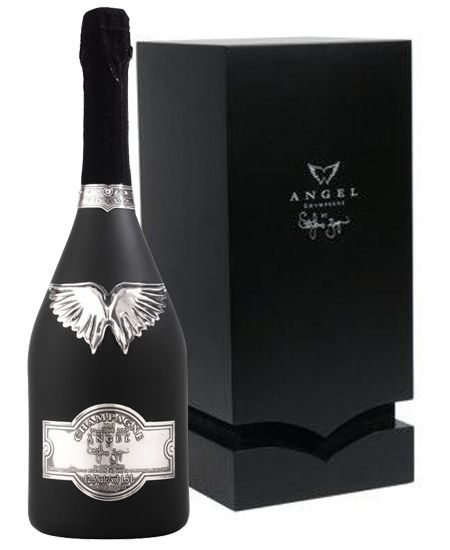 Champagne  Brut Magnum Black Bottle  L White  Packaging