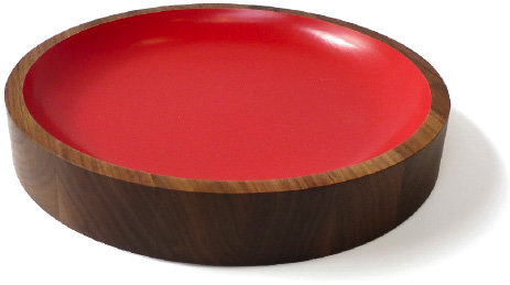 #providehome.com          #table                    #Provide #Collections #Kitchen #Dining #Table #Loyal #Loot #walnut #bowl      Provide - Collections - Kitchen & Dining by On Our Table - Loyal Loot walnut bowl in red                                          http://www.seapai.com/product.aspx?PID=1303730