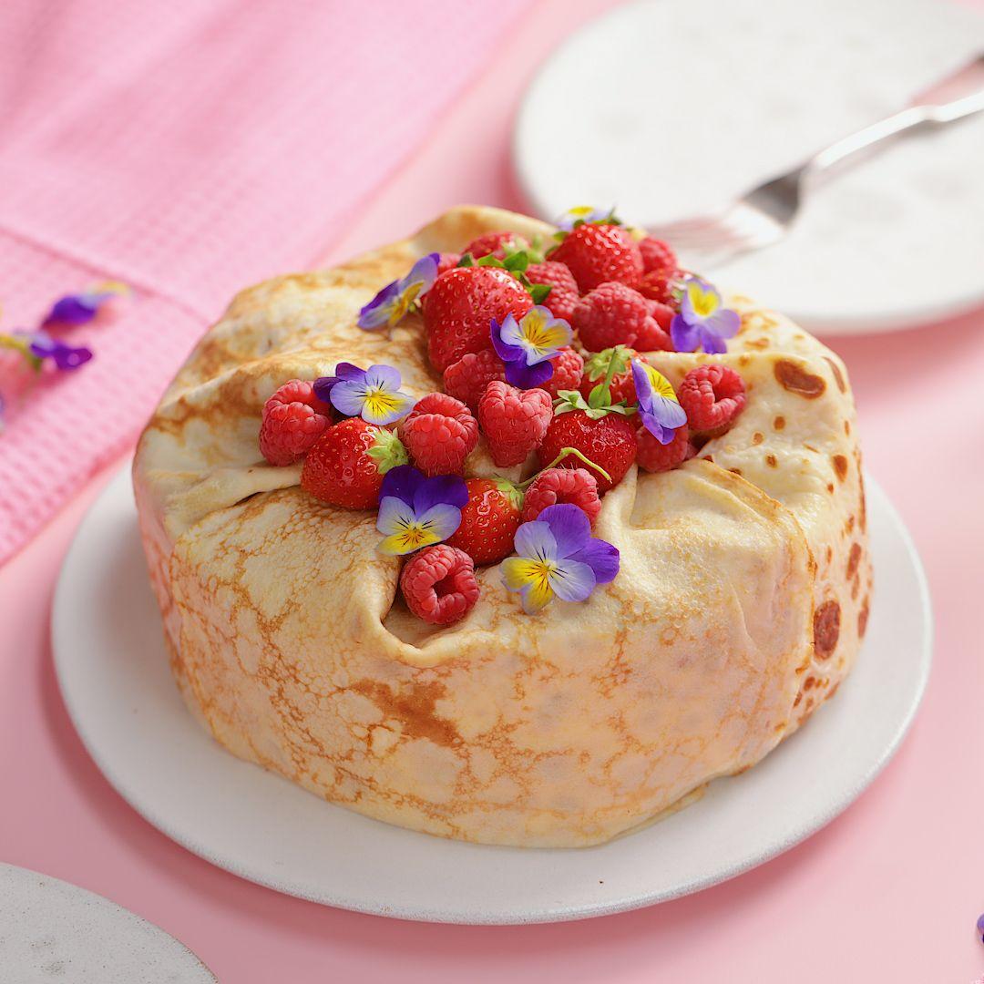 Giant Crepe Cake
