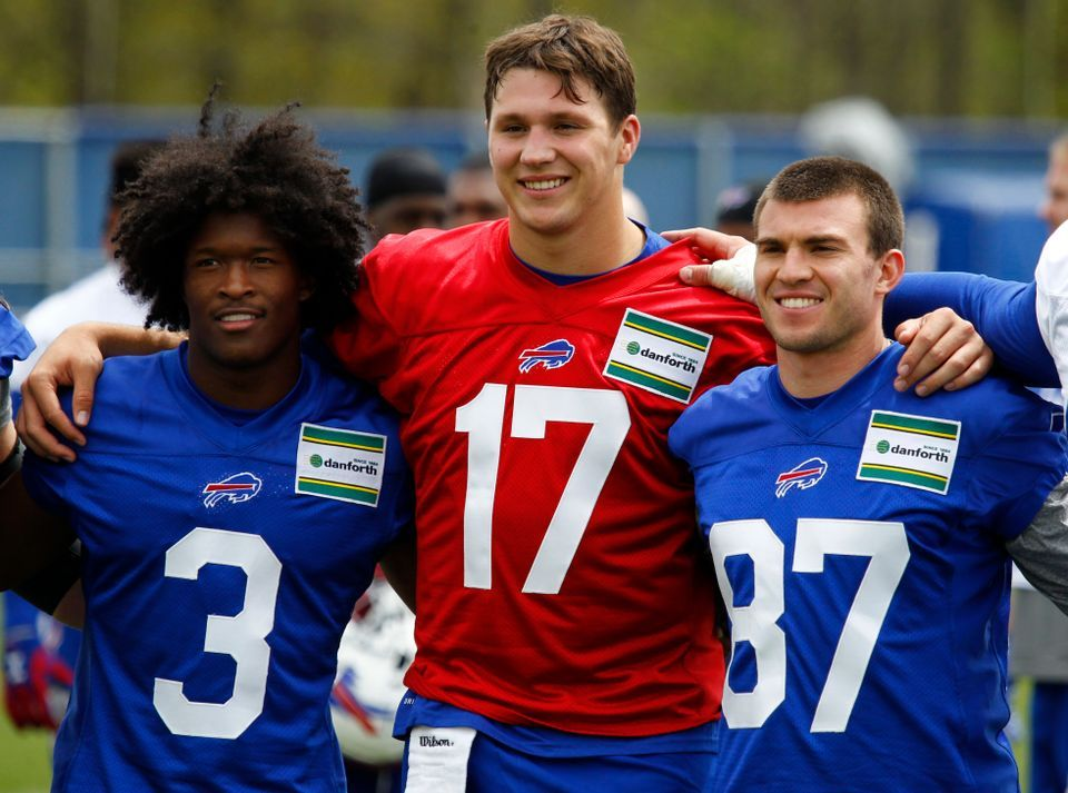 Buffalo bills rookie camp 7 observations on josh allen