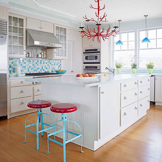 Blue Backsplash Ideas Backsplash ideas, Kitchen backsplash and