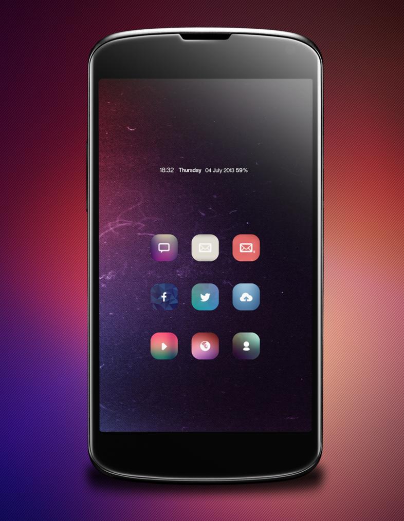 15 Android & iPhone Homescreens & Lockscreens Iphone