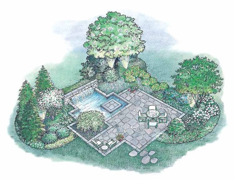 HWBDO11159 - Landscape Plan from BuilderHousePlans.com
