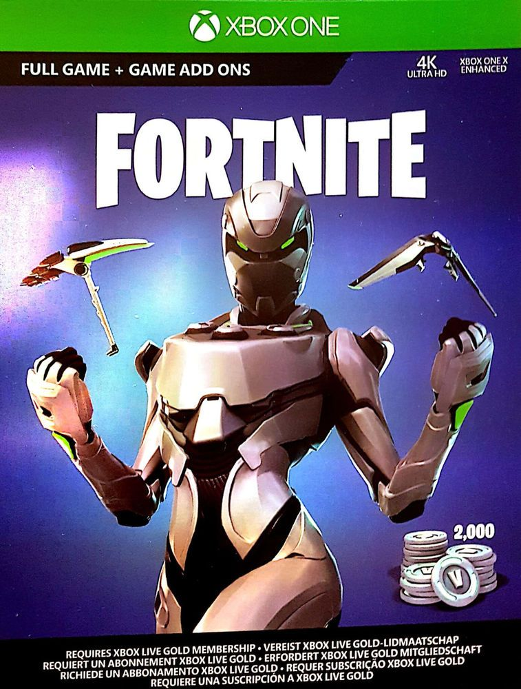 fortnite xbox one eon cosmetic set skin 2000 v bucks only no console - how to cheat at fortnite xbox one
