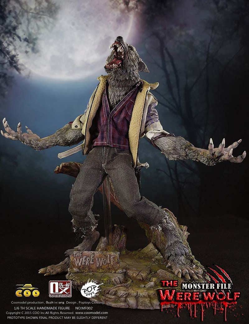 Free Shipping COOMODEL X MF002 OUZHIXIANG 1/6 Monster File