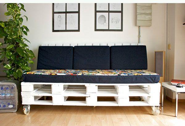 1000 ideas creativas para reciclar palets | Ideas muebles ...