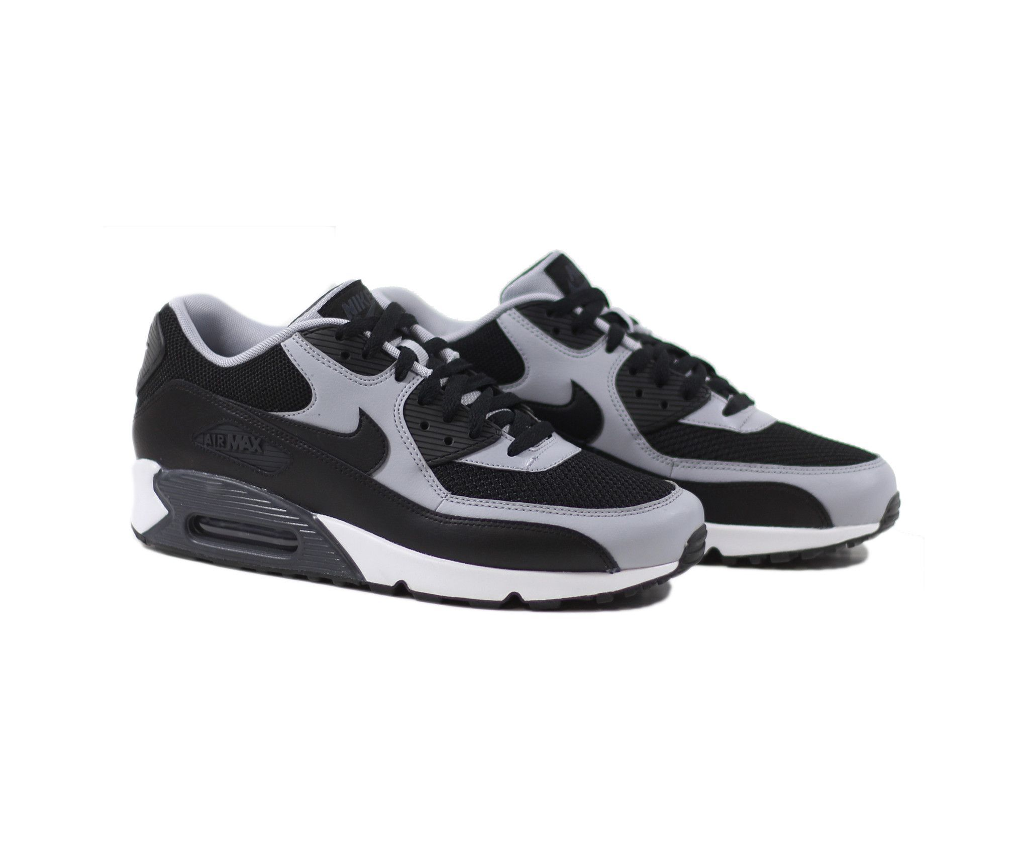 nike air max 90 essential trainer wolf grey bianca pink