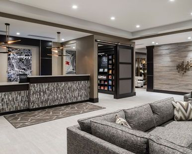 Hampton Inn Suites Bridgewater Hotel Nj Lobby Reception Area