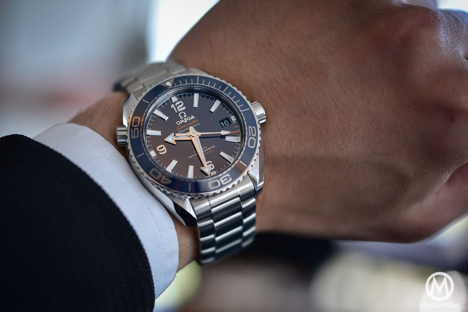 ccf134a83ba Smaller is Better  Case study with the 39.5mm Omega Seamaster Planet ...