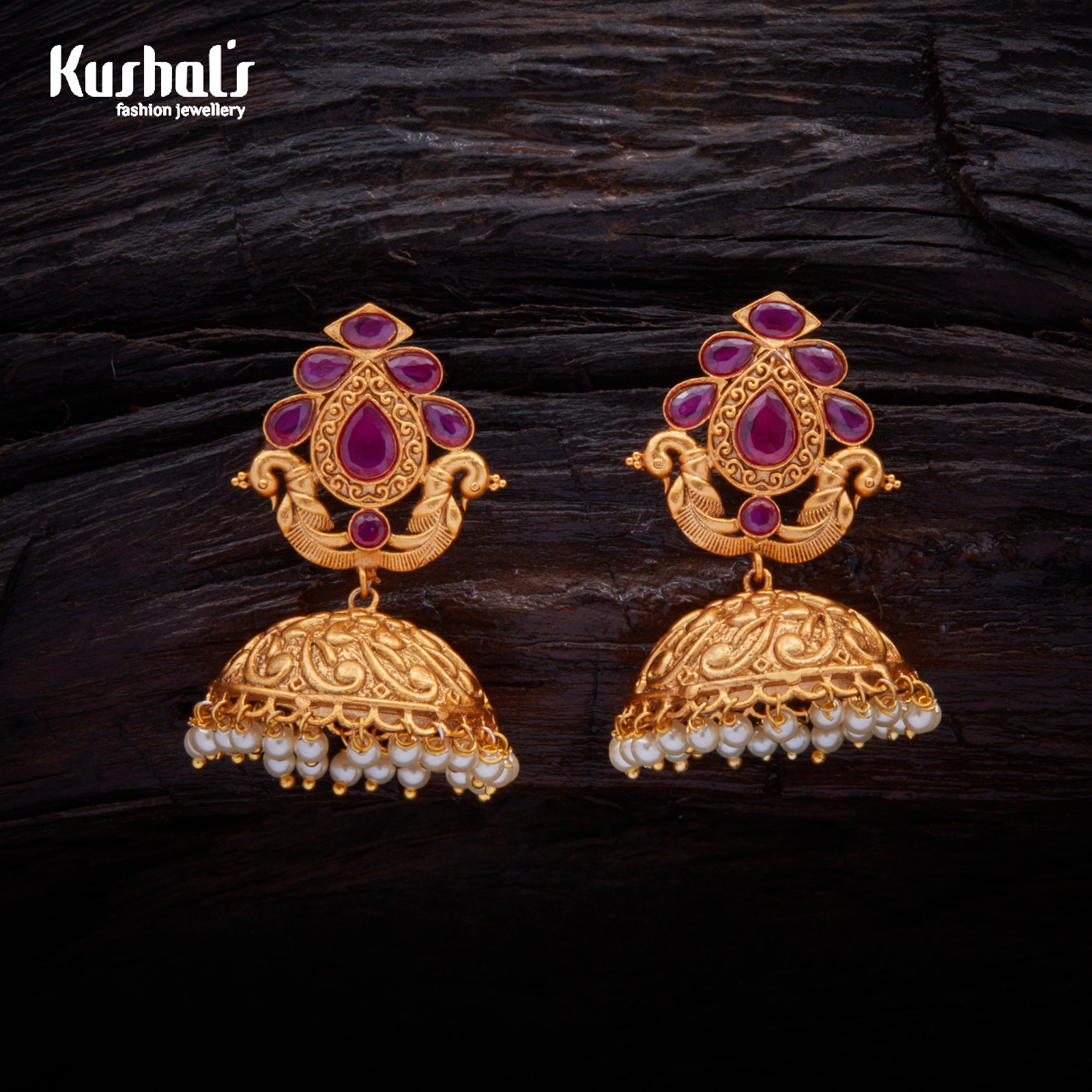 watch gold youtube diamond jhumka and designs jhumkas