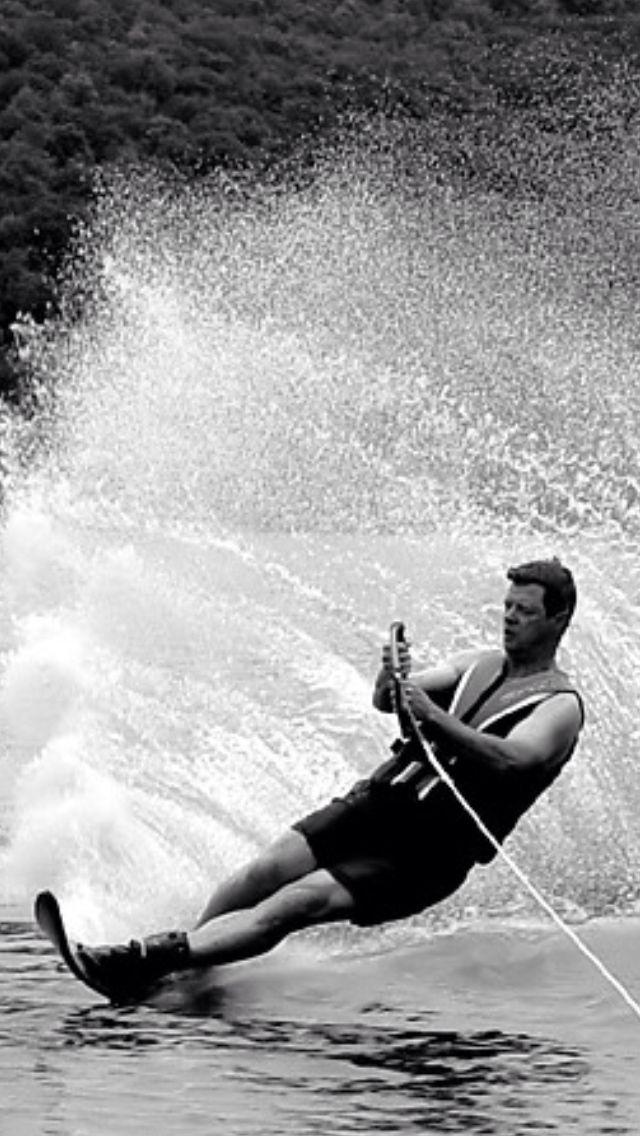Water-Skiing: Fun, fun, fun!