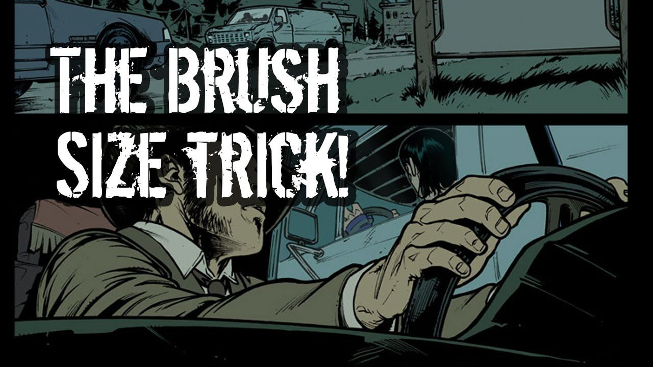 Photoshop comic coloring tutorial the brush size trick arty how to color comic books photoshop comic coloring tutorial the brush size trick baditri Gallery