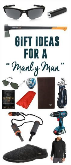 Gifts for a Manly Man Ideas For Holidays_ Gifts, Gift wrapping, Guys