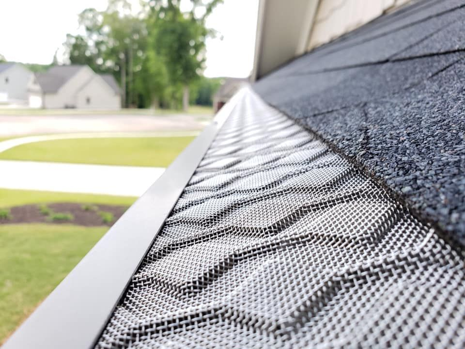 The Homecraft Gutter Guard Keeps Your Gutters Clog Free For Life Protects Your Largest Investment Customized Gutters Gutter Guard Home Improvement