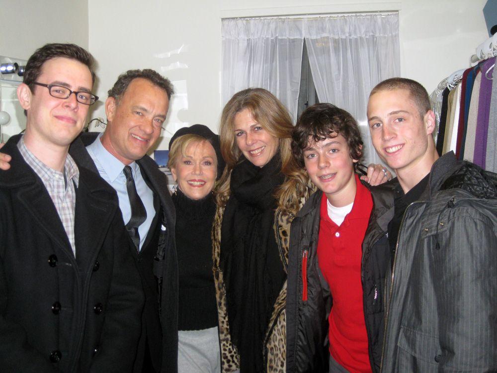 Truman Theodore Hanks Family