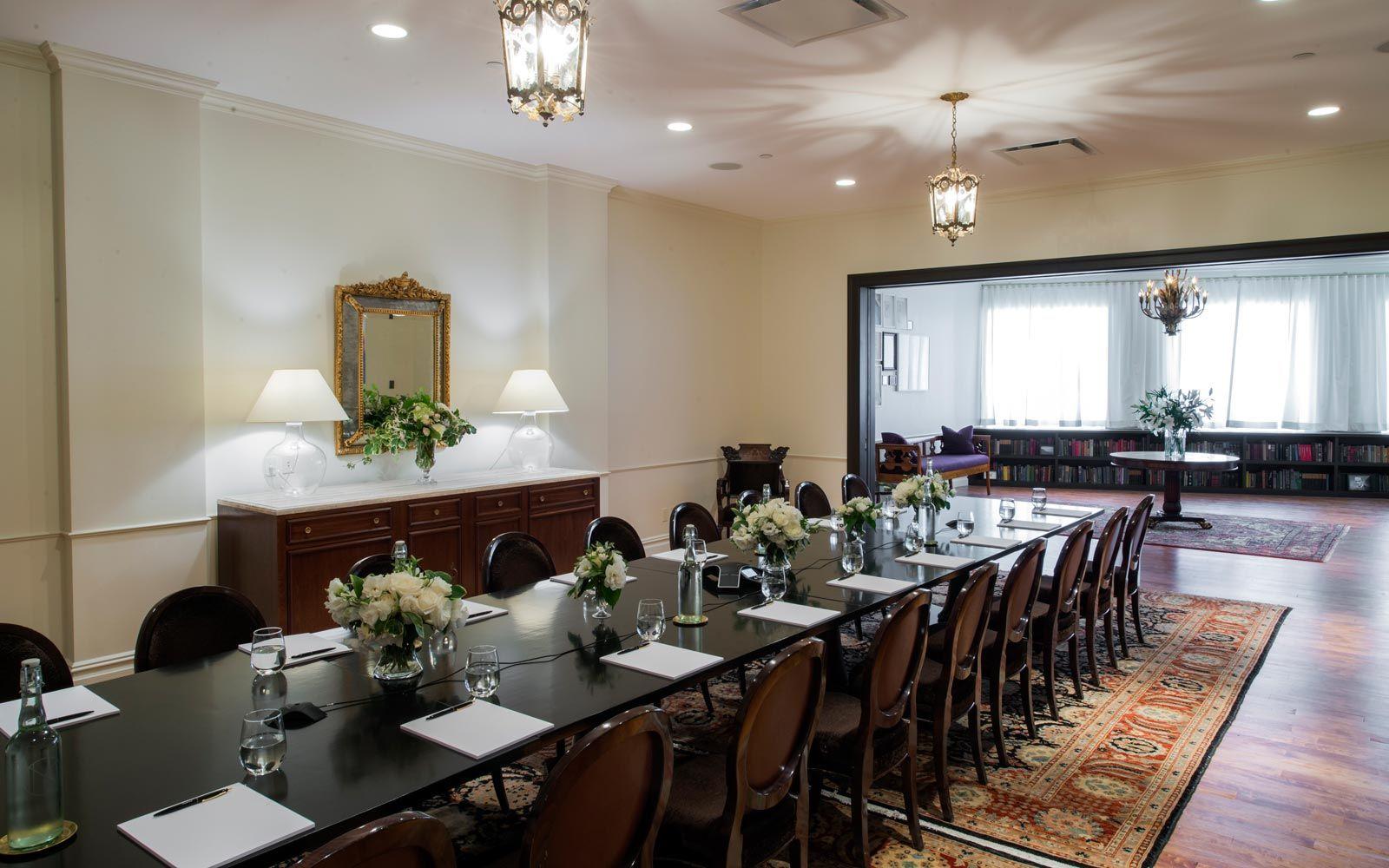 The NoMad Hotel   Caroline Room Reception: 50 Boardroom: 20 Theater ...