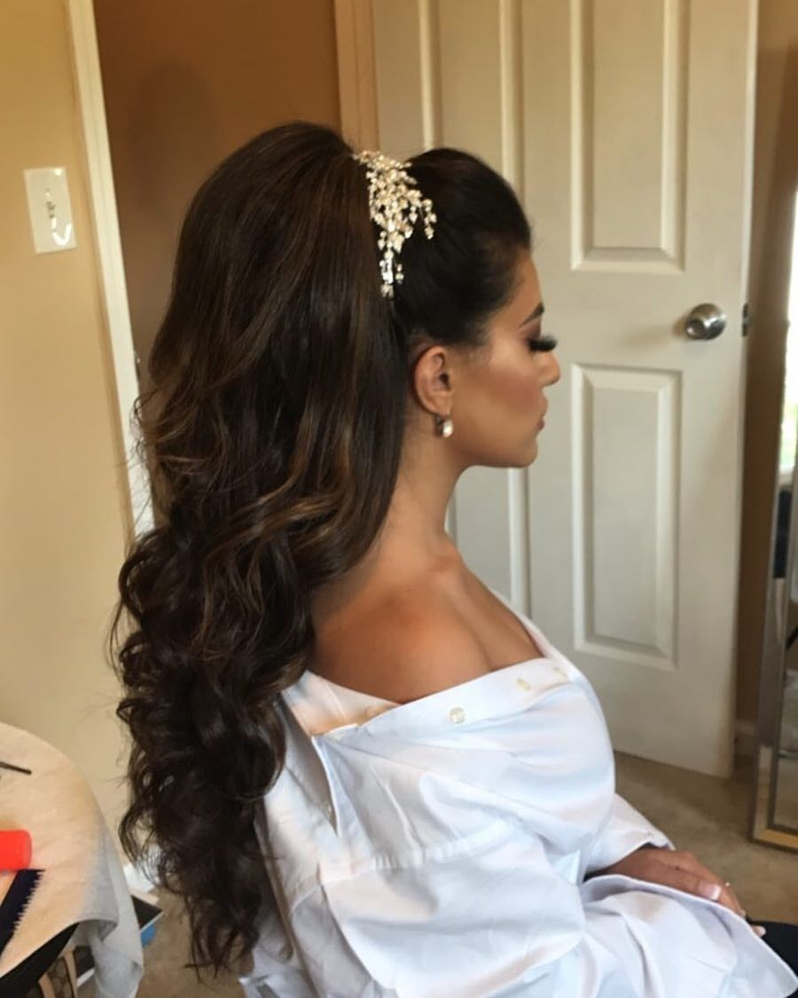 pin by zara on hair in 2019 | bridal hair, wedding