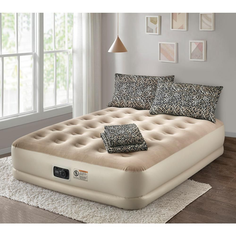 Guestroom Survival Kit Deluxe 16 In Twin Air Mattress With