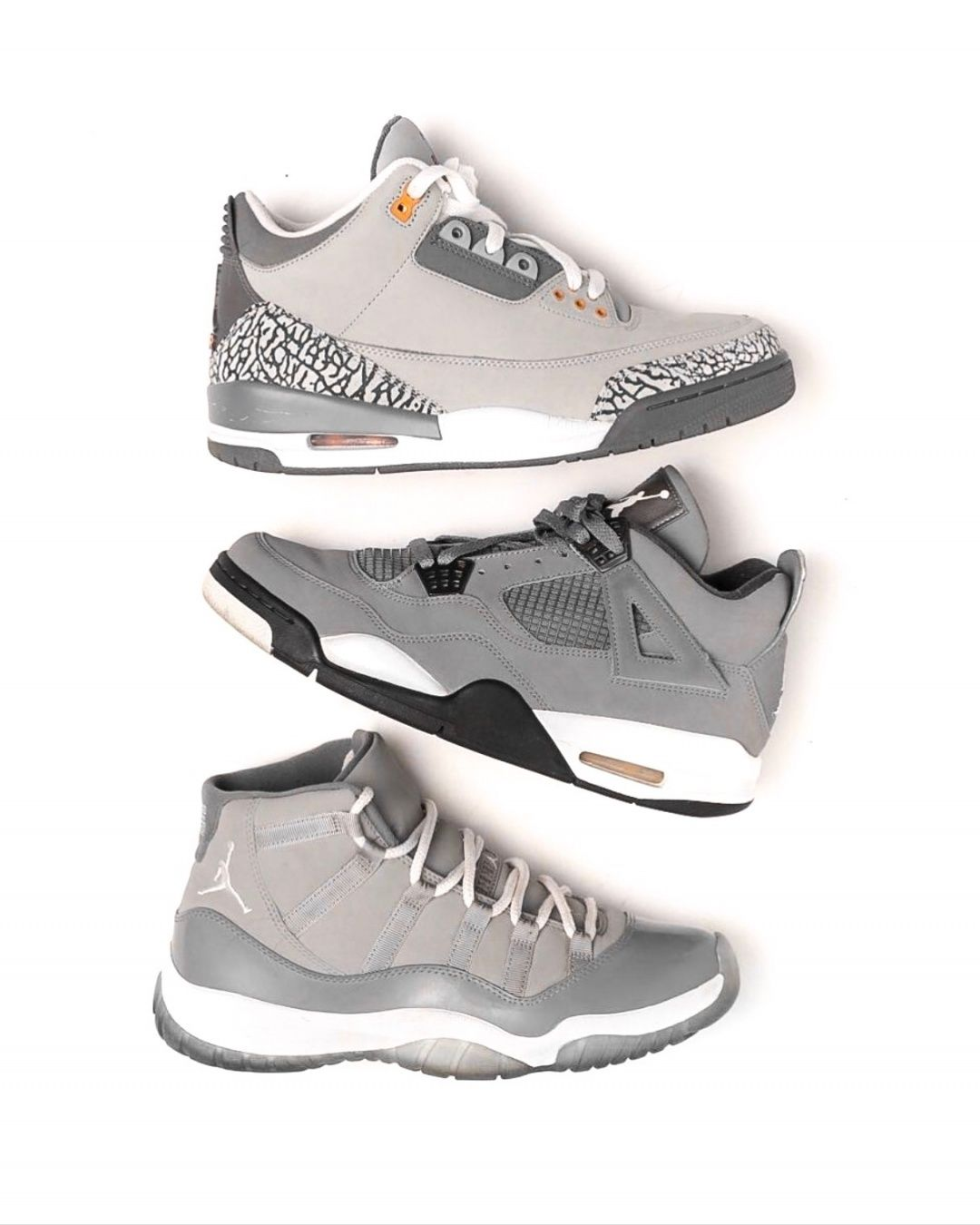 "9b449c86037 The ""Cool Grey"" Air Jordan 4 is rumored to be making a return this August  for $190. Are these a cop or drop? ...-#shoes"