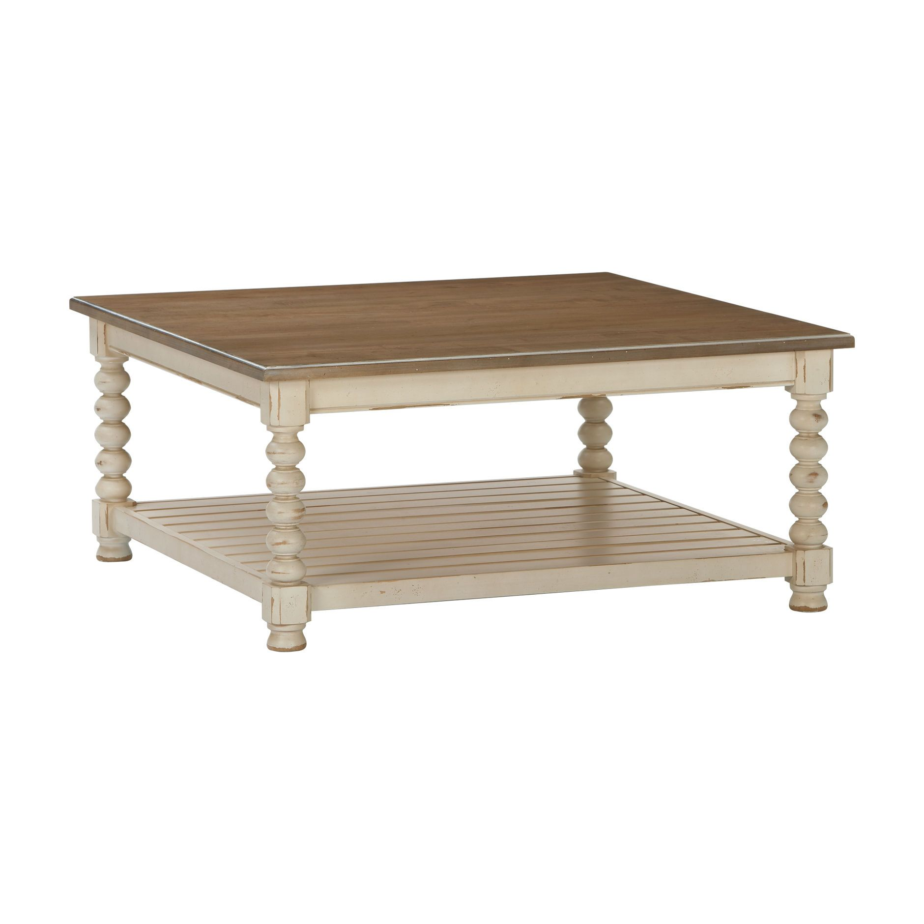 Square Mansfield Coffee Table   Ethan Allen