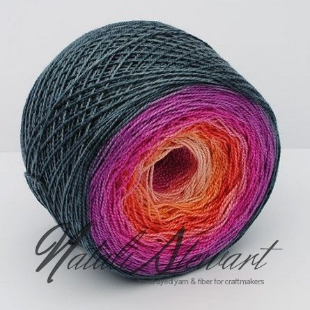 Gradient Silk Yarn GSSW Alberta - reminds me of licorice