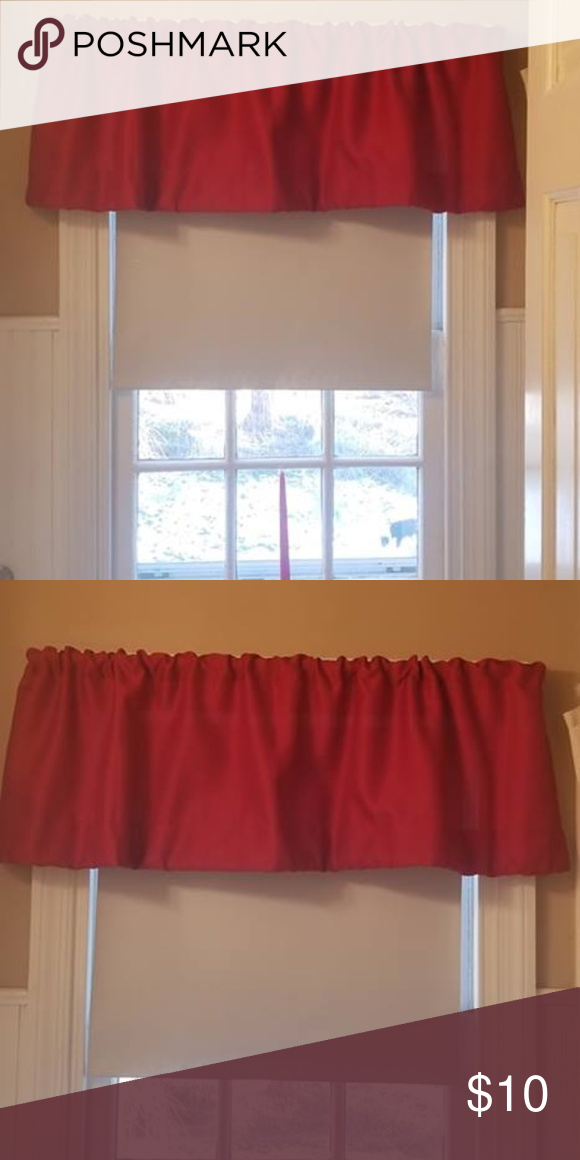 Red Valances Up To 30 Valance Home
