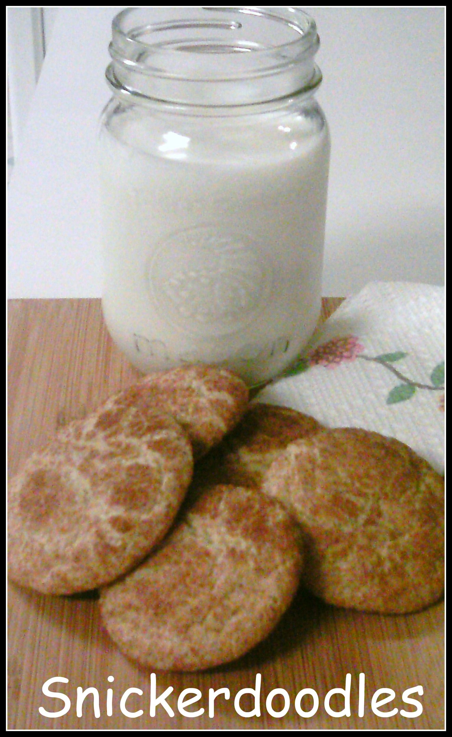 Snickerdoodles - Slightly crisp cinnamon-sugared exterior with a delicious chewy interior.