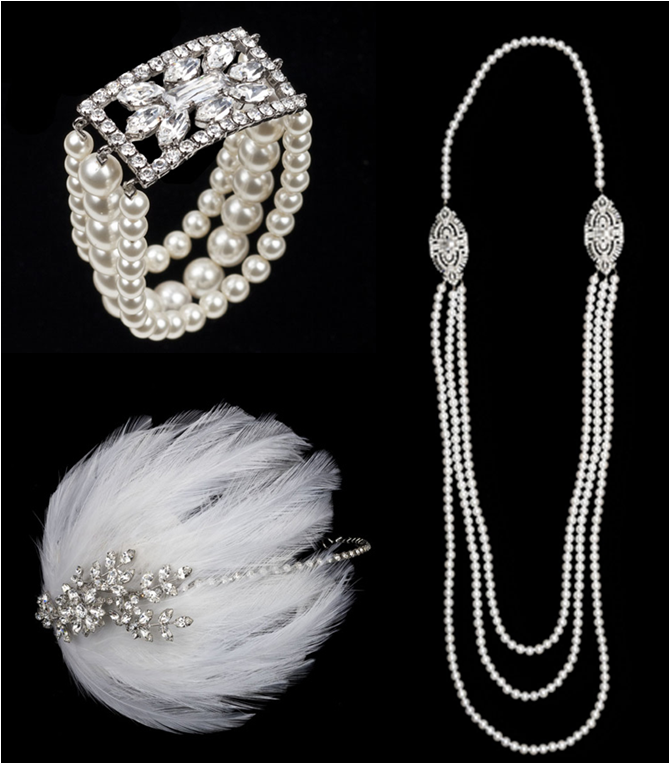 1920s style 1920s hair ornaments and gatsby