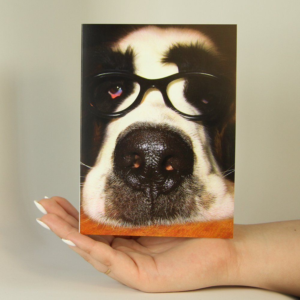 Doggie glasses funny greeting card products funny and greeting card doggie glasses funny greeting card kristyandbryce Choice Image