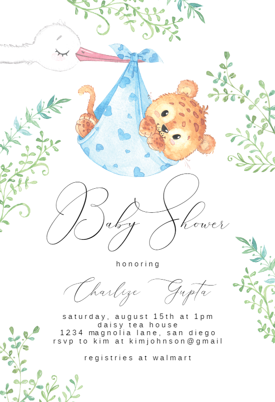 Newborn Baby Baby Shower Invitation Template Free Greetings Island Baby Shower Invitation Templates Free Baby Shower Invitations Baby Shower Invitations