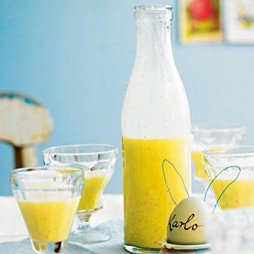 Vanille-Eierlikör Rezept Eierlikör, Vanille und Sirup - geschenke aus der küche rezepte