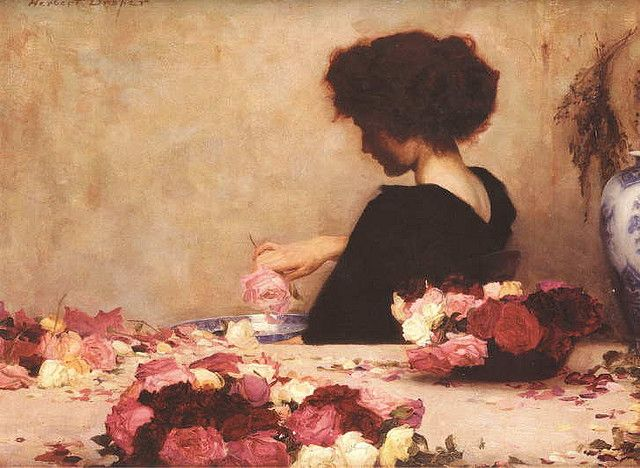 herbert james draper, Pot-pourri,  1897
