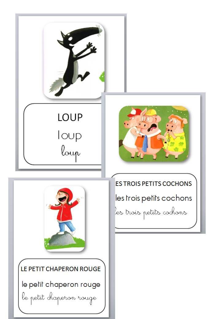 Loup Au Pays Des Contes : contes, Découvrait, Contes, Loup,, Conte,, Chaperon, Rouge