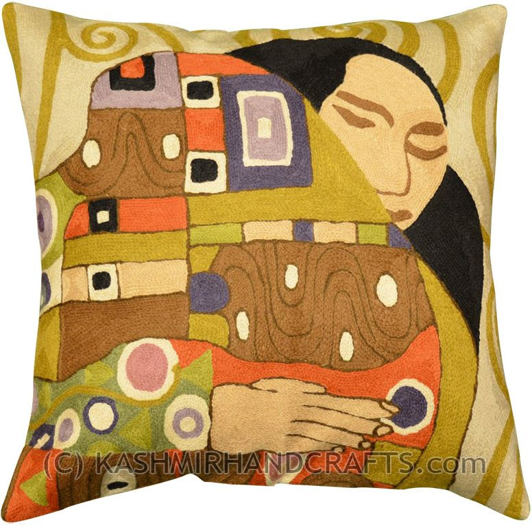 Tibetan Endless Knot Cotton Pillow