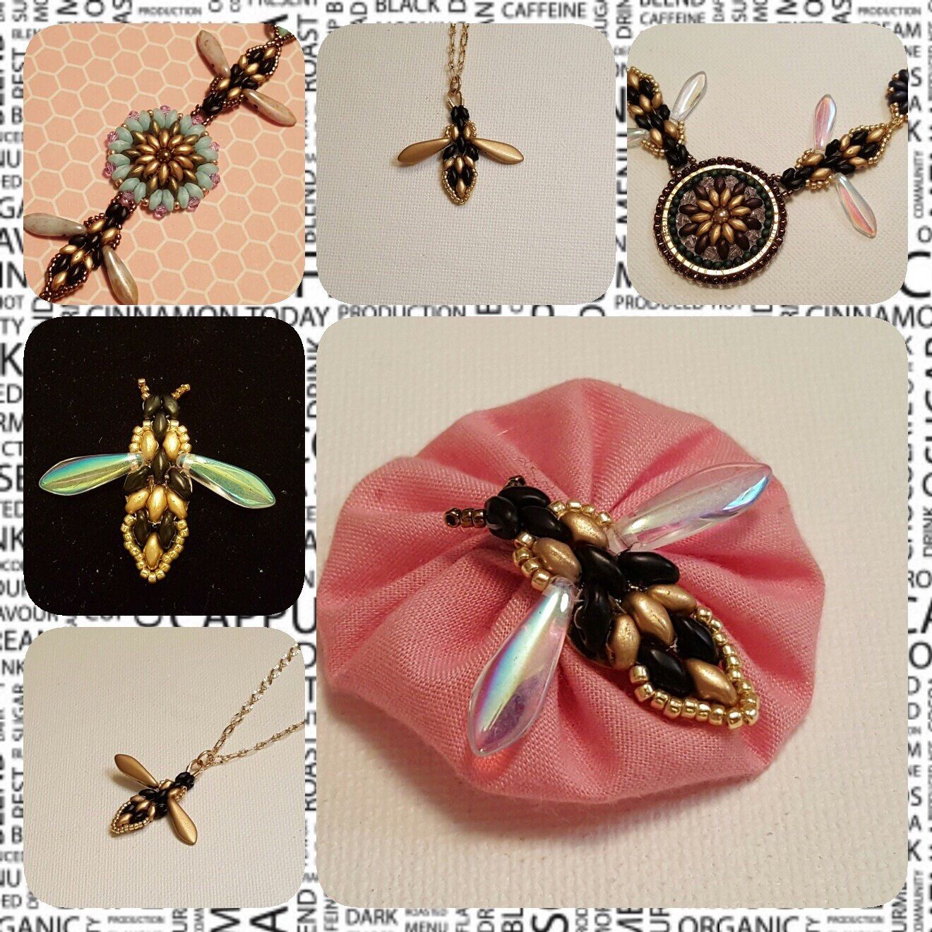 Bee Jewellery Charm with Diamante wings  Findings//jewellery making// craft