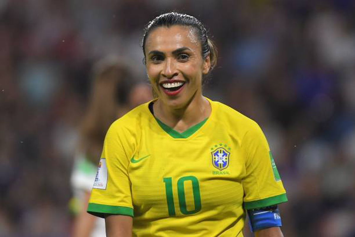 Brazil's soccer star Marta calls out to future national team ...