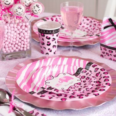 Pink Safari Baby Shower Ideas Party City Already Ordered