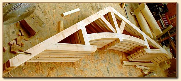 Vermont Timber Works | Beautiful Exposed Wood Trusses