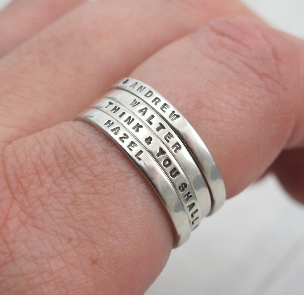 Posey rings date back for centuries and were first given as ...