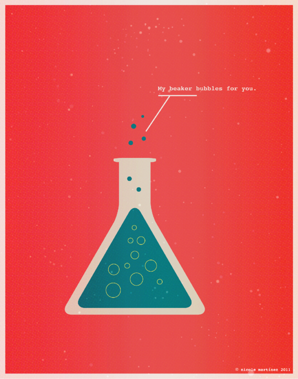 fun, Graphic Design, greeting cards, Illustration, nerd, nerdy, posters, science