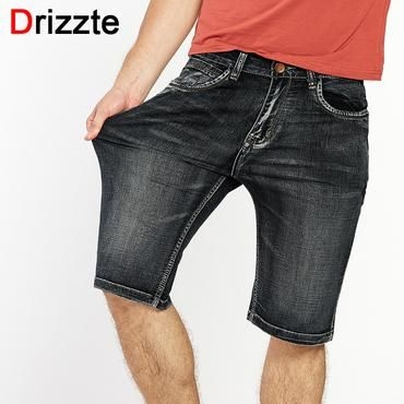 630a29b5e3f Drizzte Brand Mens Lightweight Denim Jeans Shorts Plus Size Jeans Short for Men  Pants Summer 34
