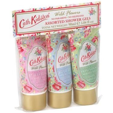 Wildrose Bluebell Honeysuckle Wild Flower Shower Gels Cath