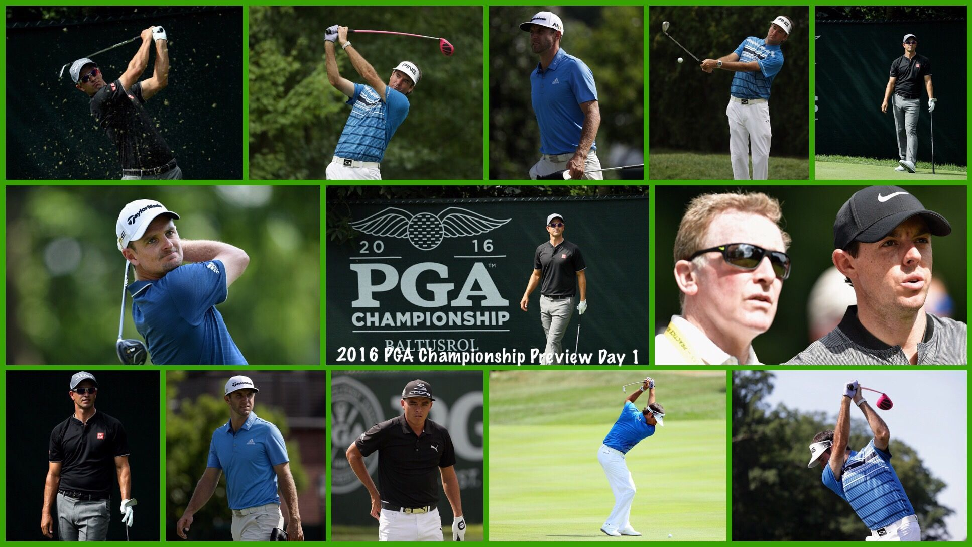 PGA Championship Preview Day one