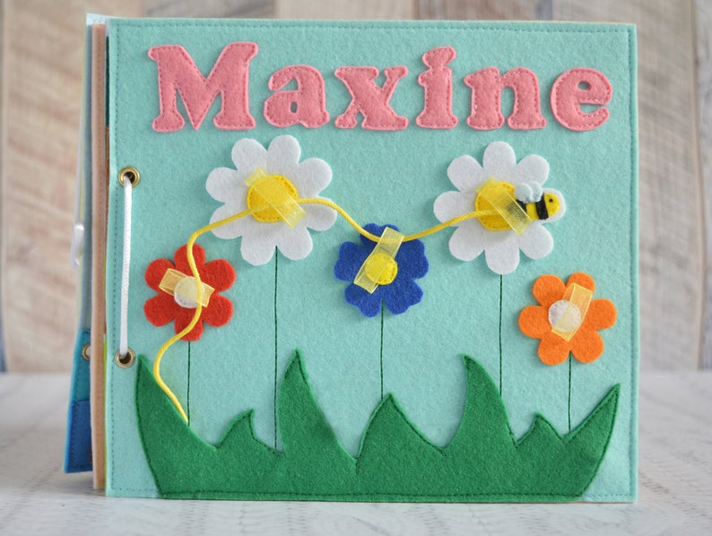 Photo of Felt quiet book for toddler Busy baby book Montessory toy Activity book Educational toy