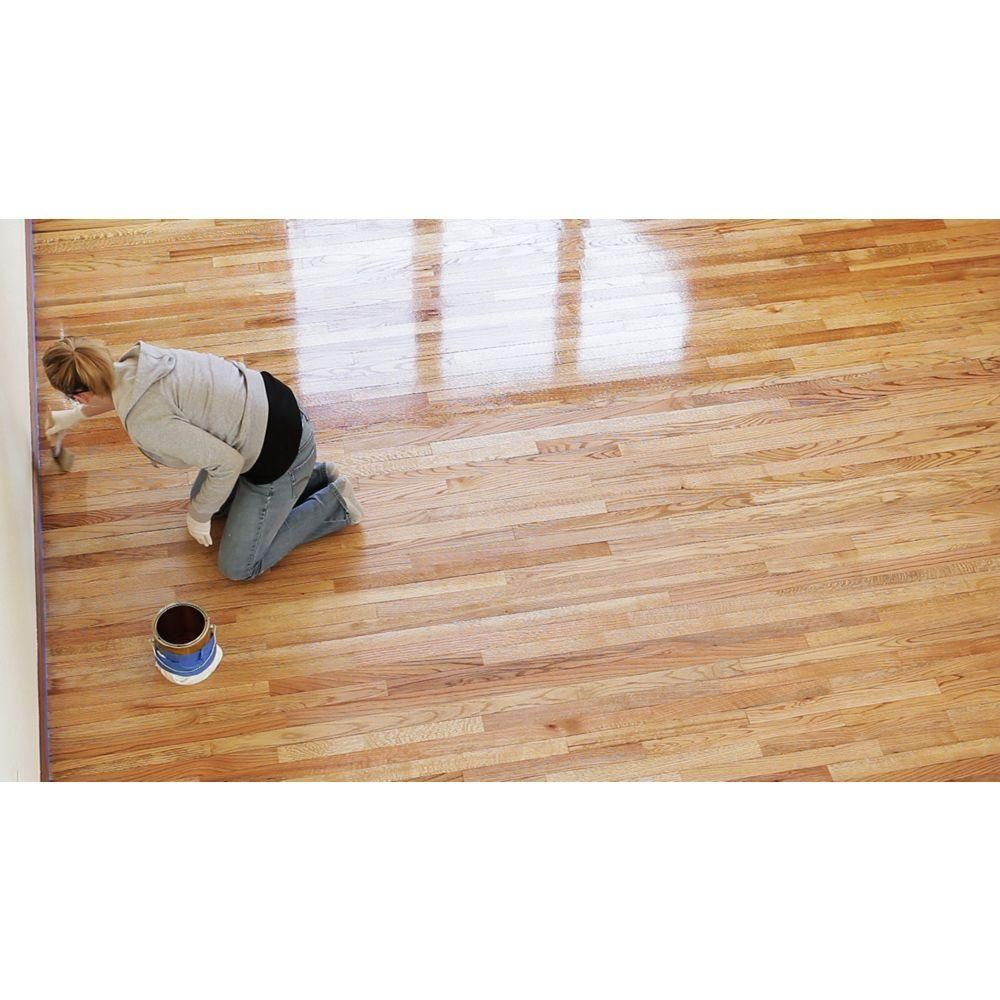 Minwax 1 Gal Gloss Super Fast Drying Polyurethane For Hardwood Floors 2 Pack Hardwood Floors Minwax Hardwood