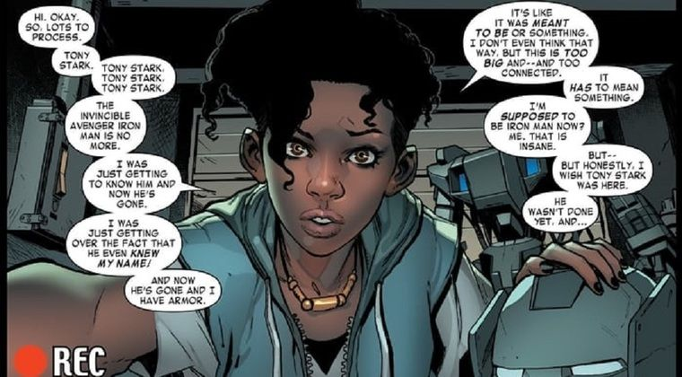 Iron Man Female Superheroes And Villains Iron Men 1