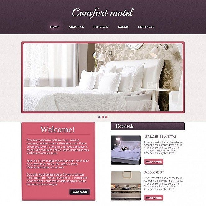 divine isn t it motel moto cms html template click here live