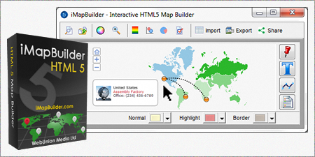 Create interactive maps with your data using the imapbuilder create interactive maps with your data using the imapbuilder software in easy steps gumiabroncs Gallery
