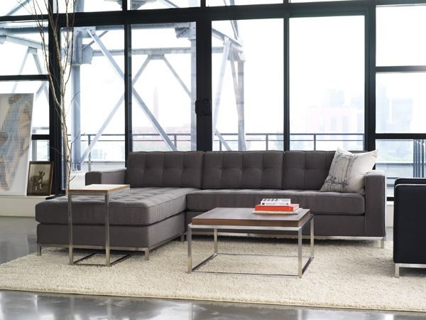 Gus modern Jane bi-sectional drake coffee table bishop side table : gus jane bi sectional - Sectionals, Sofas & Couches