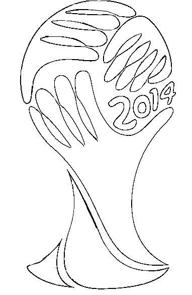 Coloring Page 2014 Fifa World Cup Fifa World Cup 2014 Logo 4 World Cup World Cup 2014 World Cup Logo